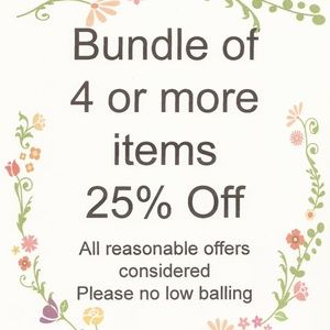 Jewelry - Bundle 4 or more get 25% off